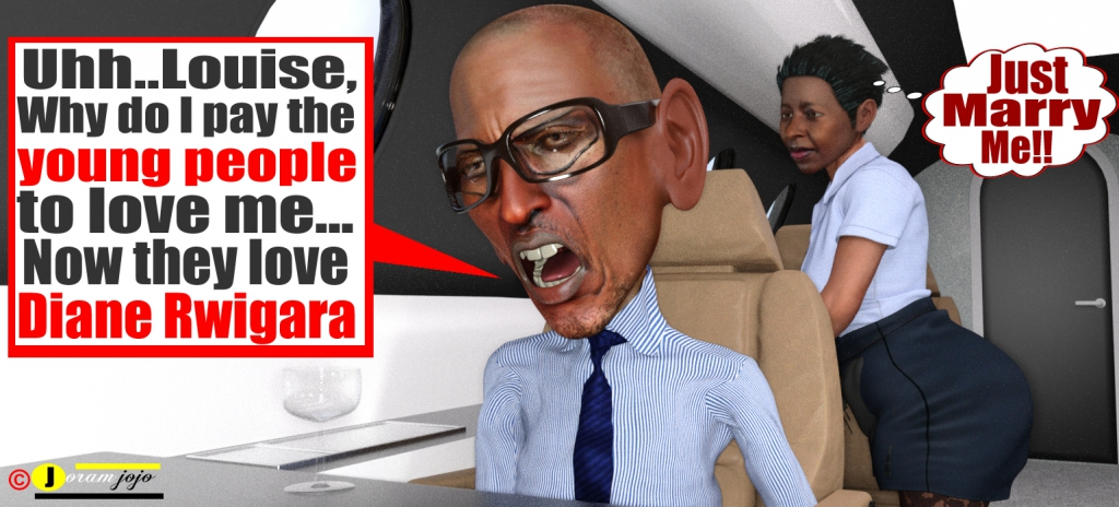 Image result for Kagame rwigara cartoon